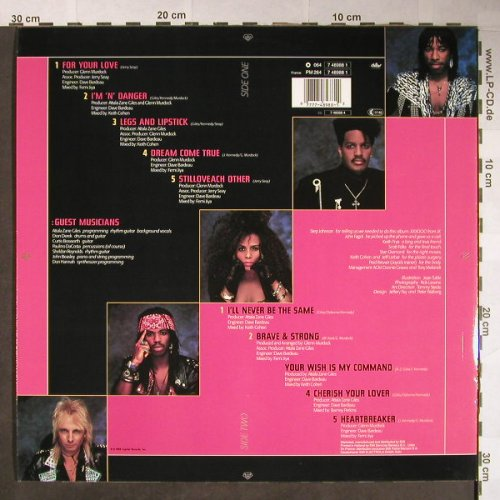 Mothers Finest: Looks Could Kill, Capitol(7 48988 1), EEC, 1989 - LP - H85 - 5,50 Euro