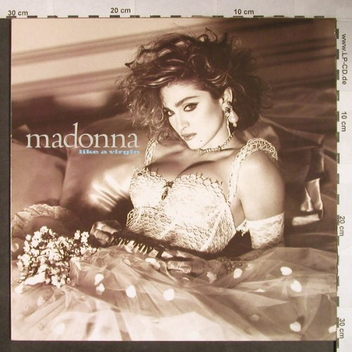 Madonna: Like A Virgin, Sire(925 181-1), D, 1984 - LP - H87 - 5,00 Euro