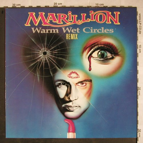 Marillion: Warm Wet Circles, Remix +2, EMI(20 2166 6), D, 1987 - 12inch - H9258 - 5,50 Euro