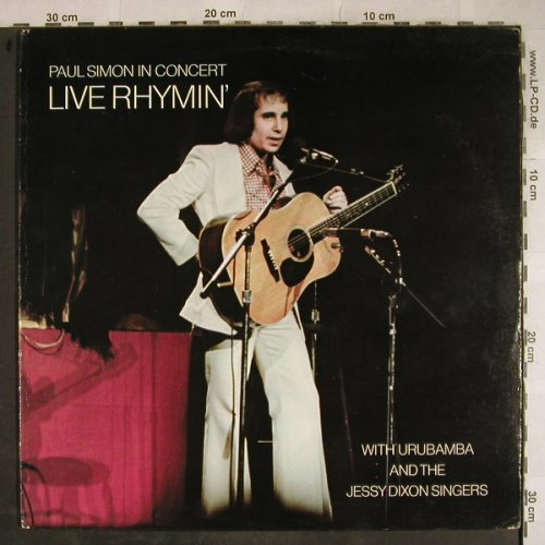 Simon,Paul: Live Rhymin'-In Concert, vg+/vg+, Columbia(PC 32855), US, 1974 - LP - H9265 - 6,00 Euro