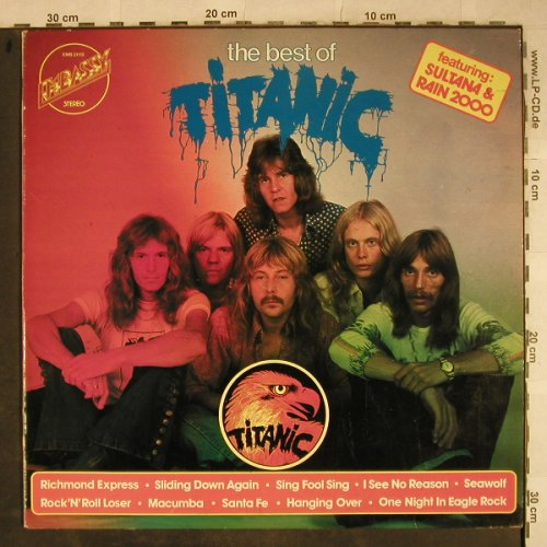 Titanic: The Best Of, Embassy(EMB 31 112), NL, Ri, 1975 - LP - H9425 - 7,50 Euro