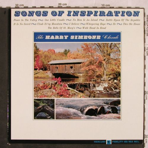 Simeone,Harry - Chorale: Songs of Inspiration, Mercury(125 953 MCL), NL, Mono,  - LP - H9824 - 7,50 Euro
