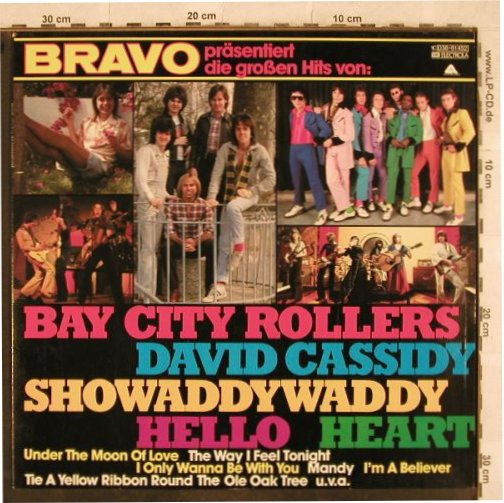 V.A.BRAVO präs. Die großen Hits: Bay City Rollers, Showaddywaddy..., Arista(038-61 452), D, 14 Tr., 1978 - LP - H9896 - 3,00 Euro