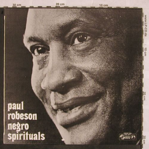 Robeson,Paul: Negro Spirituals, Allen Booth,piano, Concert Hall,vg+/m-(SVS 2611), Jef Mike,  - LP - H9918 - 4,00 Euro