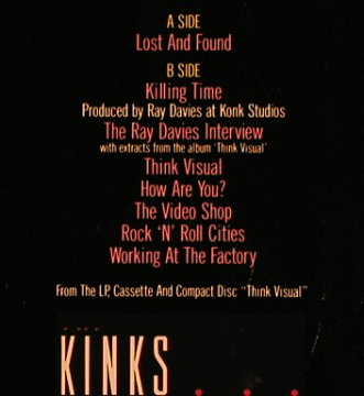 Kinks: Lost & Found, London(886 139-1), D, 1987 - 12inch - X1029 - 4,00 Euro