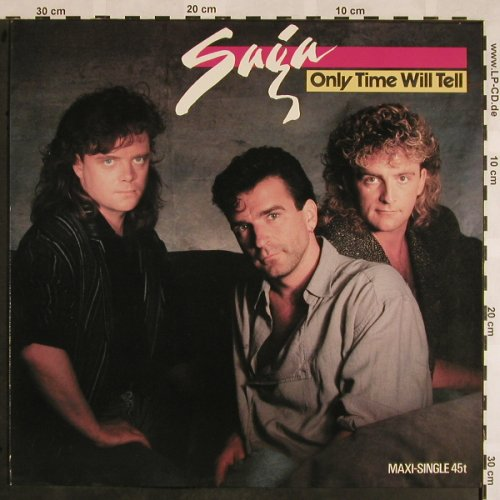 Saga: Only Time Will Tell+2, Polydor(609 367), D, 1987 - 12inch - X1042 - 3,00 Euro