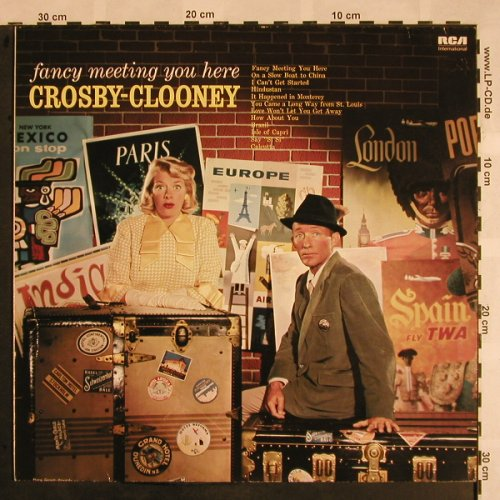 Crosby,Bing / Rosemary Clooney: Fancy Meeting You Here, RCA(NL 89315), D,  - LP - X1137 - 7,50 Euro
