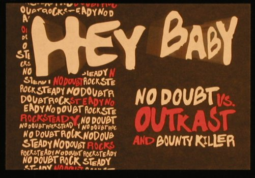 No Doubt vs.Outcast a.Bounty Killer: Hey Baby*2, 33rpm, (), ,  - 12inch - X1330 - 5,00 Euro