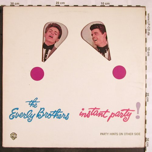 Everly Brothers: Instant Party, vg+/m-, WB(WB 26.052), D, 1962 - LP - X1439 - 6,00 Euro