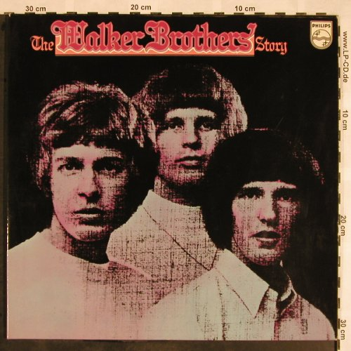 Walker Brothers: The W.B.Story, Foc, Philips(6640 004), D,  - 2LP - X1468 - 12,50 Euro