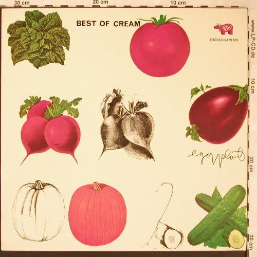Cream: Best Of, RSO(2479 169), D, Ri, 1969 - LP - X1615 - 7,50 Euro