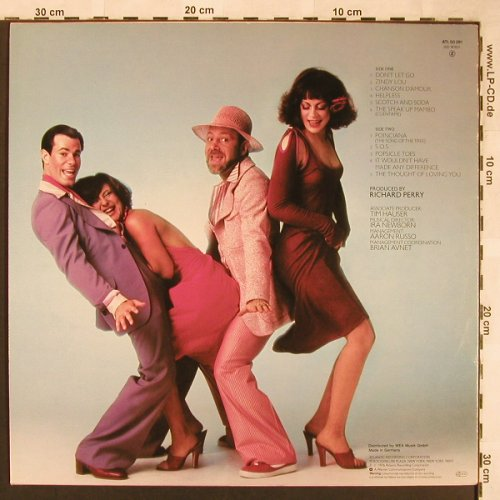 Manhattan Transfer: Coming Out, Atlantic(ATL 50 291), D, 1976 - LP - X1759 - 5,50 Euro