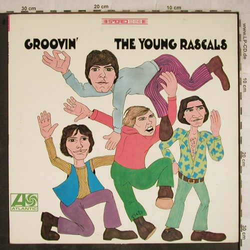 Rascals - The Young: Groovin', vg+/vg+, Atlantic(SD 8148), US,  - LP - X1809 - 25,00 Euro