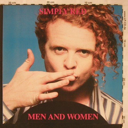 Simply Red: Men And Women, WEA(242 071-1), D, 1987 - LP - X1912 - 5,00 Euro