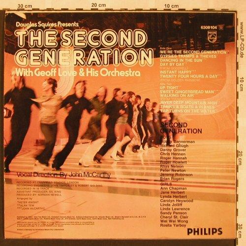 Second Generation: with Geoff Love & his Orchestra, Philips(6308 104), D,  - LP - X1939 - 6,00 Euro