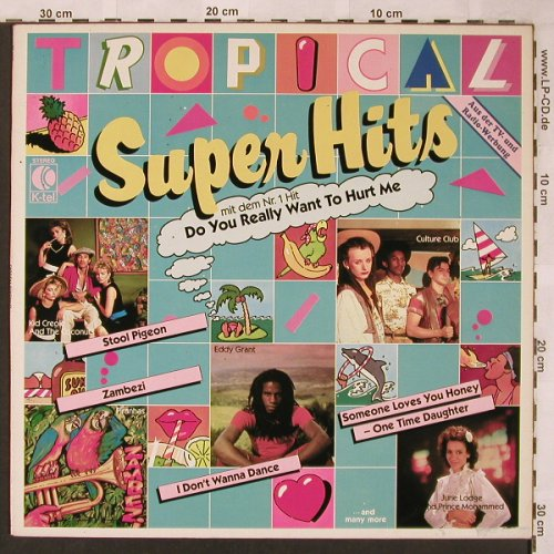 V.A.Tropical Super Hits: Culture Club...Garland Jeffreys, K-tel(TG 1421), D, 1983 - LP - X1941 - 4,00 Euro