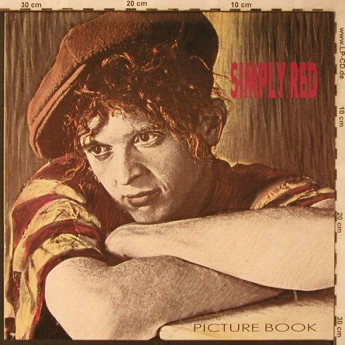 Simply Red: Picture Book, WEA(960 452-1), D, 1985 - LP - X2203 - 5,00 Euro