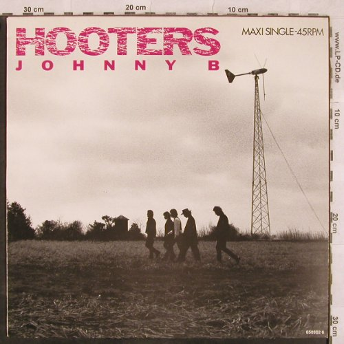 Hooters: Johnny B / Lucy In The Sky.., CBS(CBS 650982 6), NL, 1987 - 12inch - X239 - 3,00 Euro