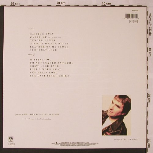 De Burgh,Chris: Flying Colours, AM(395224-1), D, 1988 - LP - X2522 - 5,00 Euro