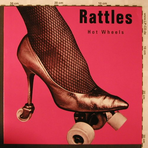 Rattles: Hot Wheels, + Cards, ACT(836 630-1), D, 1988 - LP - X2643 - 9,00 Euro