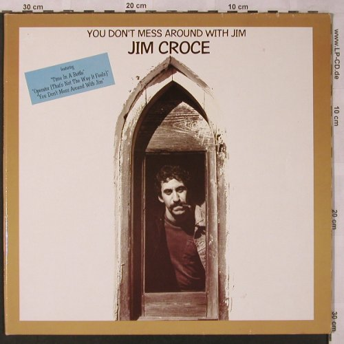Croce,Jim: You Don't Mess Around..,Ri, Foc, Intercord(INT 130.101), D, 1985 - LP - X2719 - 5,00 Euro