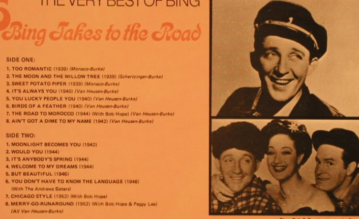 Crosby,Bing: 6 Bing Takes on the Road,VeryBest o, World Records Ltd.(SM 296), UK,  - LP - X278 - 6,00 Euro
