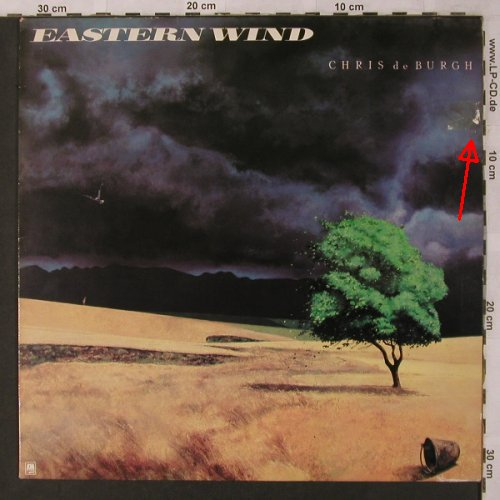 De Burgh,Chris: Eastern Wind, m-/vg+, AM(LH 64815), NL, 1980 - LP - X2812 - 5,00 Euro