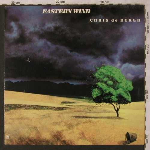 De Burgh,Chris: Eastern Wind, AM(394 815-1), D, Ri, 1980 - LP - X2814 - 5,00 Euro