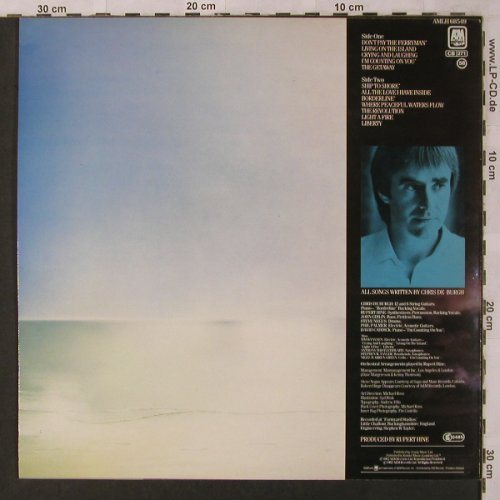 De Burgh,Chris: The Getaway, AM(LH 68549), NL, 1982 - LP - X2819 - 5,00 Euro