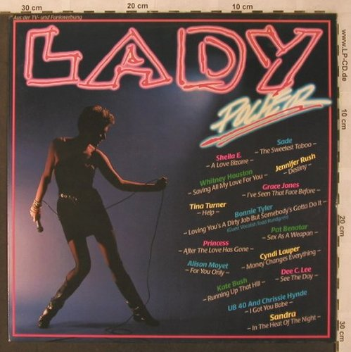 V.A.Lady Power: Kate Bush...Whitney Houston, CBS(CBS 24 066), NL, 1986 - LP - X2952 - 4,00 Euro