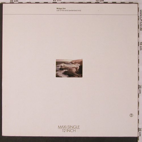 Ure,Midge: Call Of The Wild (ex mx)+2, Chrysalis(608 337), D, 1986 - 12inch - X3024 - 4,00 Euro