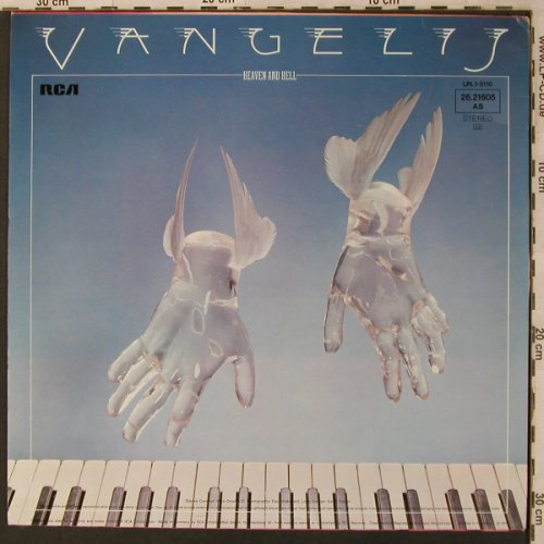Vangelis: Heaven and Hell, RCA(26.21605 AS), D, Ri, 1975 - LP - X3032 - 6,00 Euro
