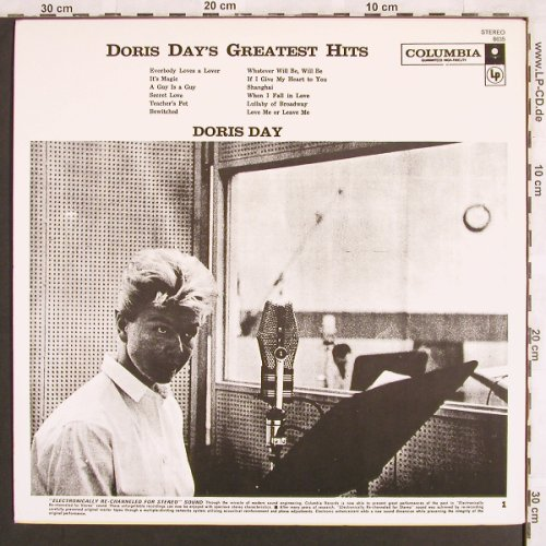 Day,Doris: Greatest Hits, Columbia(8635), US,  - LP - X3149 - 6,50 Euro
