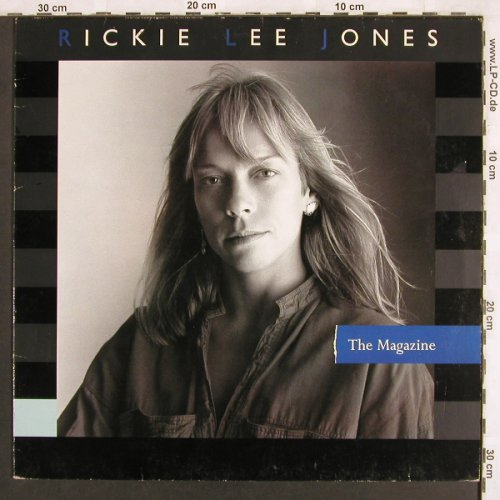 Jones,Rickie Lee: The Magazine, WB(925 117-1), D, 1984 - LP - X3216 - 7,50 Euro