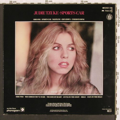 Tzuke,Judie: Sports Car, Rocket(6302 016), D, 1980 - LP - X3347 - 5,00 Euro