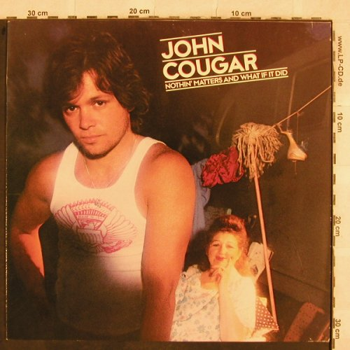 Cougar,John: Nothin'Matters And What If It Did, Mercury(814 994-1Q), D, 1980 - LP - X341 - 5,00 Euro
