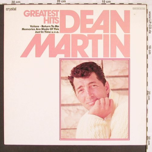 Martin,Dean: Greatest Hits, Crystal/MFP(048 CRY 50708), D,  - LP - X3453 - 4,00 Euro