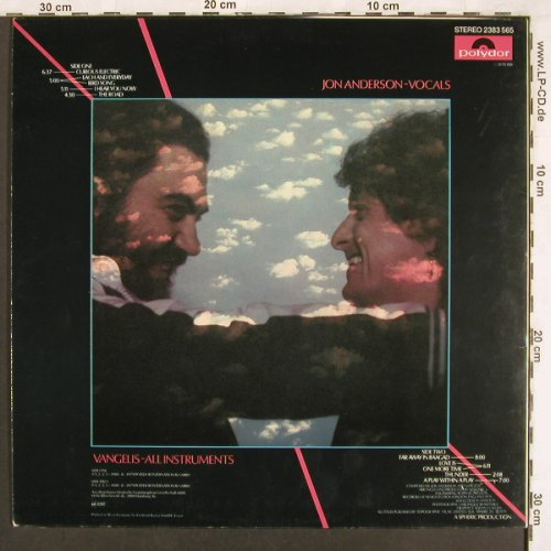 Jon and Vangelis: Short Stories, Polydor(2383 565), D, 1980 - LP - X3508 - 6,00 Euro