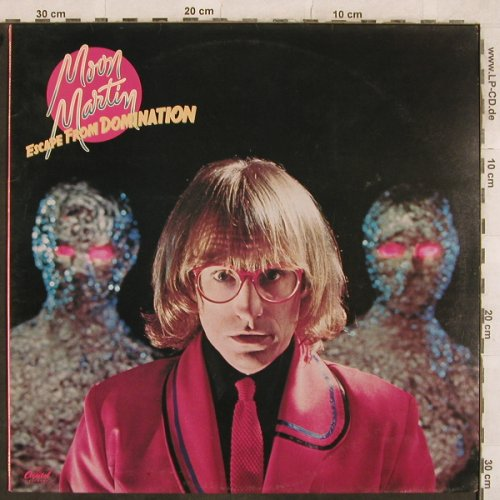 Moon Martin: Escape From Domination, Capitol(064-85 944), D, 1979 - LP - X356 - 5,50 Euro