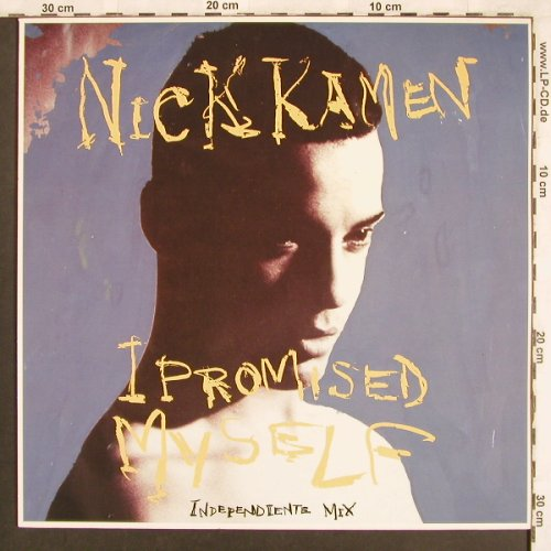 Kamen,Nick: I Promised Myself *2+1, WEA(170 838-0), D, 1990 - 12inch - X3636 - 3,00 Euro