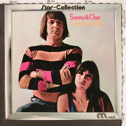 Sonny & Cher: Greatest Hits, Star-Collection, MIDI(MID 20 026), D, Ri, 1972 - LP - X3650 - 5,00 Euro
