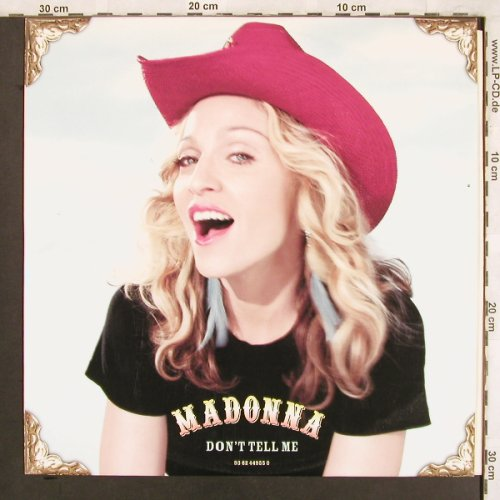 Madonna: Don't Tell Me*3+1, Maverick(093624495505), D, 2000 - 12inch - X3803 - 5,00 Euro