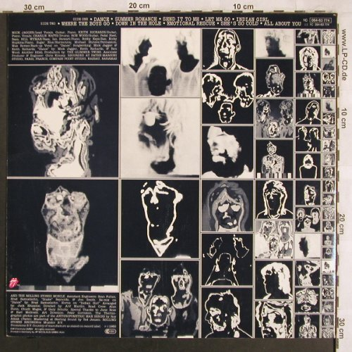 Rolling Stones: Emotional Rescue - Only Cover !!!, RS(064-63 774), D, 1980 - Cover - X3916 - 1,50 Euro