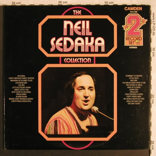 Sedaka,Neil: The Collection, Foc, RCA Camden(PDA 008), UK, Ri,  - 2LP - X4100 - 7,50 Euro