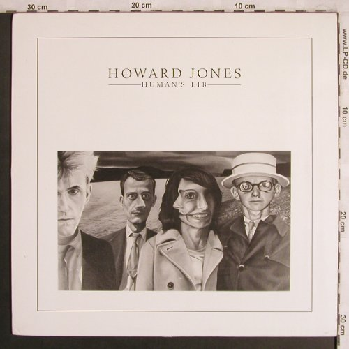 Jones,Howard: Human's Lib, Warner(240 335-1), D, 1984 - LP - X4122 - 6,00 Euro