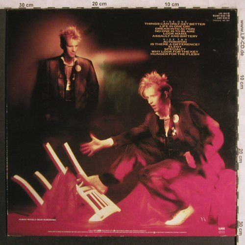 Jones,Howard: Dream Into Action, WEA(240 632-1), D, 1985 - LP - X4123 - 5,00 Euro