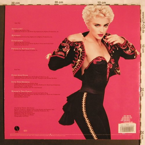 Madonna: You Can Dance,+Poster, vg+/m-, Sire(9 25 535-1), D, 1987 - LP - X4129 - 5,00 Euro