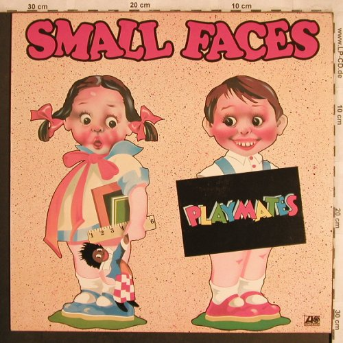 Small Faces: Playmates, Atlantic(ATL 50 375), D, 1977 - LP - X4249 - 7,50 Euro