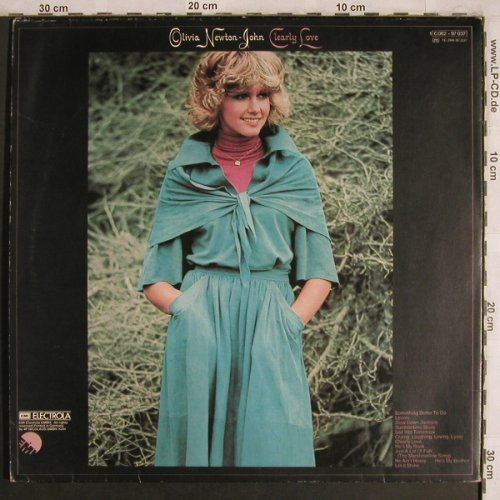 Newton-John,Olivia: Clearly Love, Foc, EMI(C 062-97 037), D, 1975 - LP - X4263 - 6,00 Euro