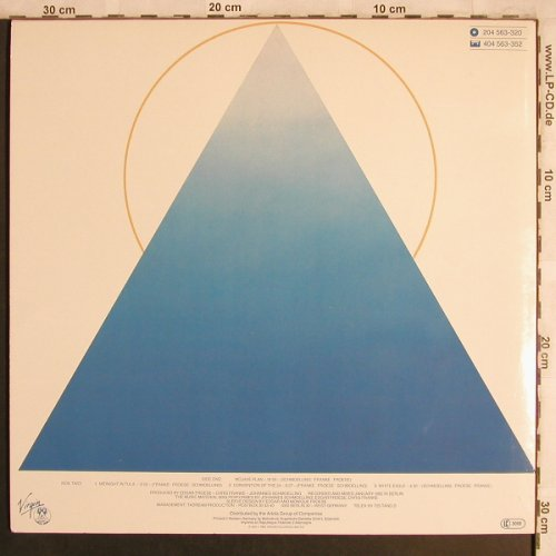 Tangerine Dream: White Eagle, Virgin(204 563-320), D, 1982 - LP - X4277 - 7,50 Euro